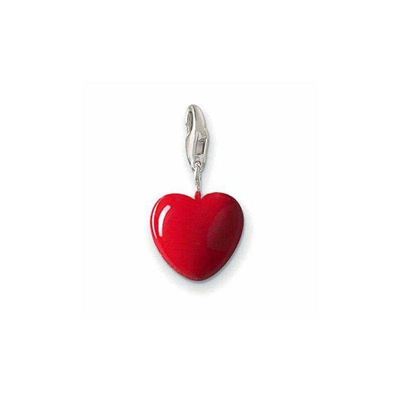 Thomas Sabo Silver Red Heart