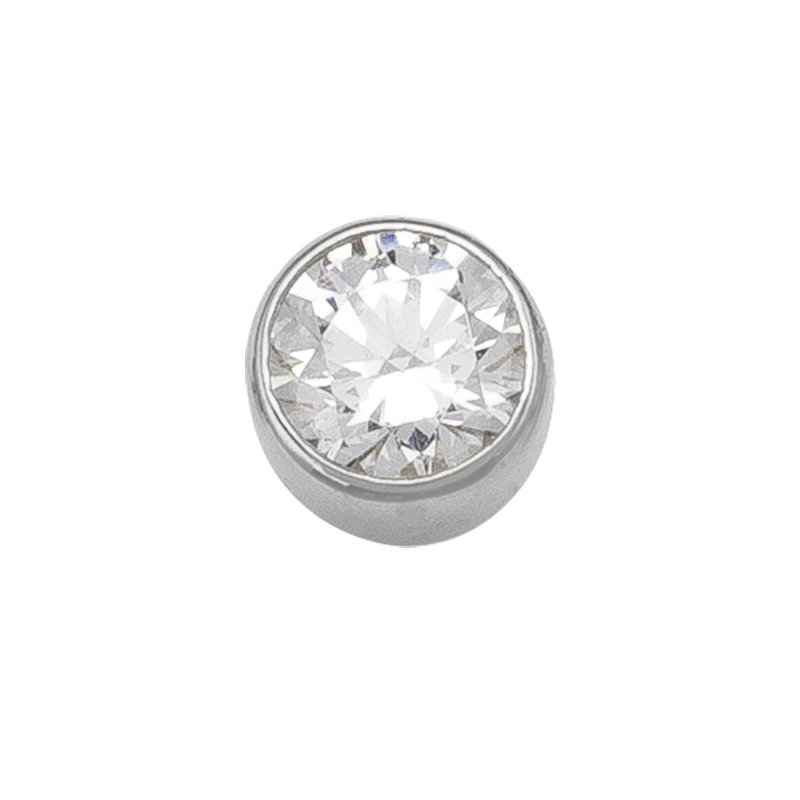 The Collection 5 mm Bezel Stud Earring