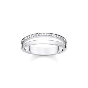 Double Row Stone Ring