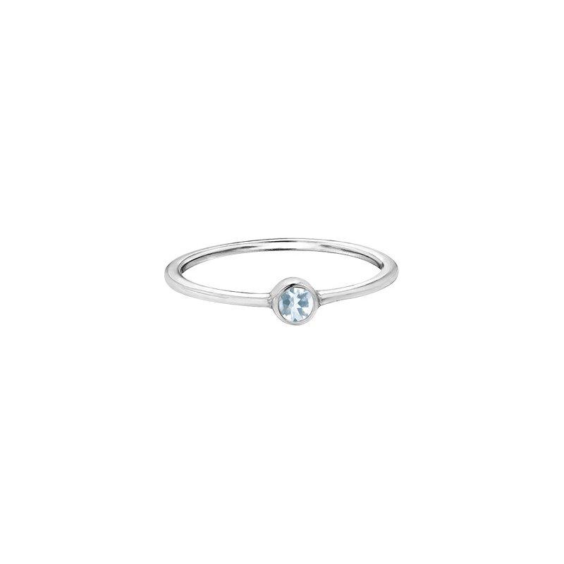 The Collection Aquamarine Ring