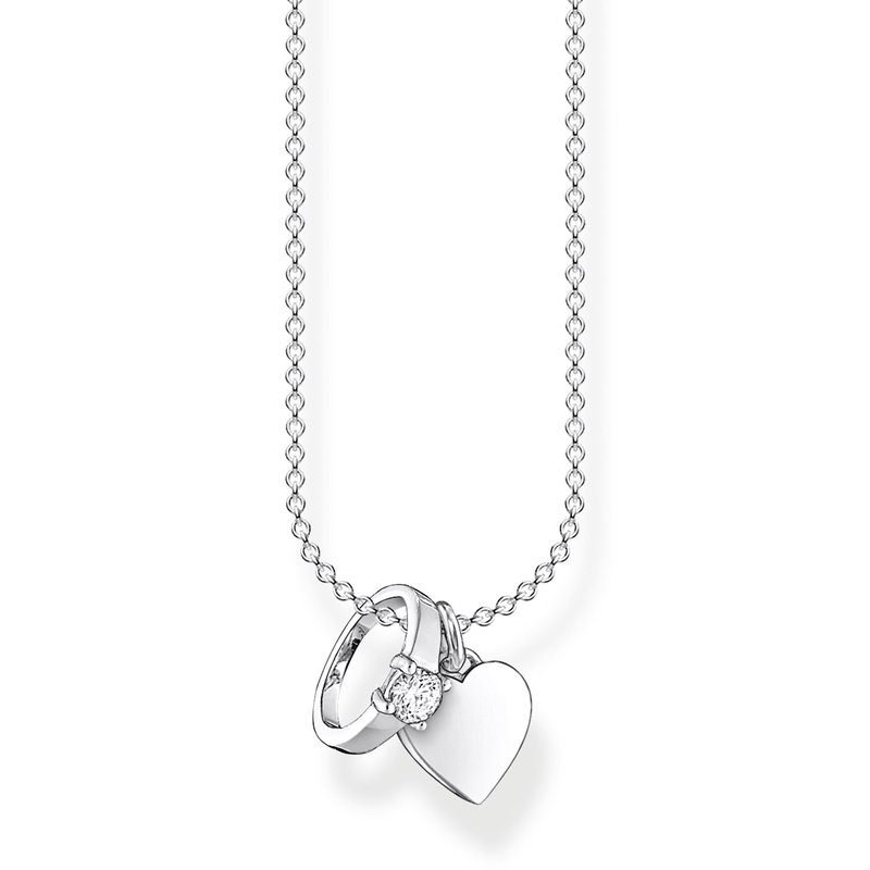 Thomas Sabo Necklace Ring with Heart