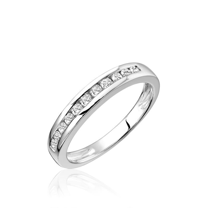 RNB Bijoux Jewellery Channel Set Diamond Band