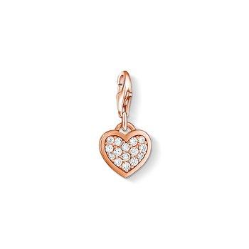 Charm Pendant Glitter Heart