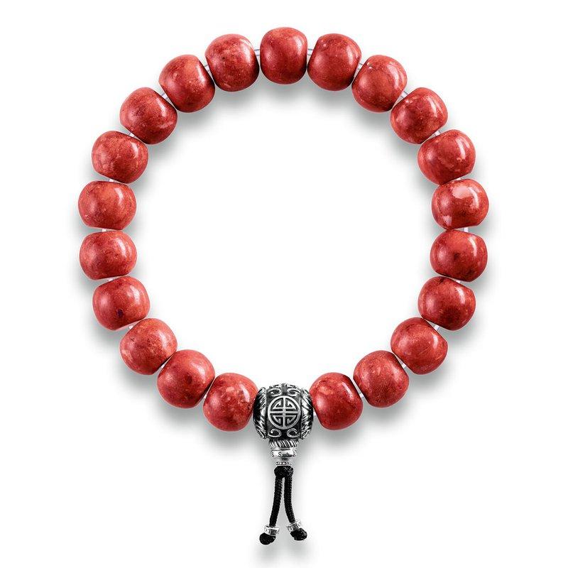 Thomas Sabo Power Bracelet Ethnic Red