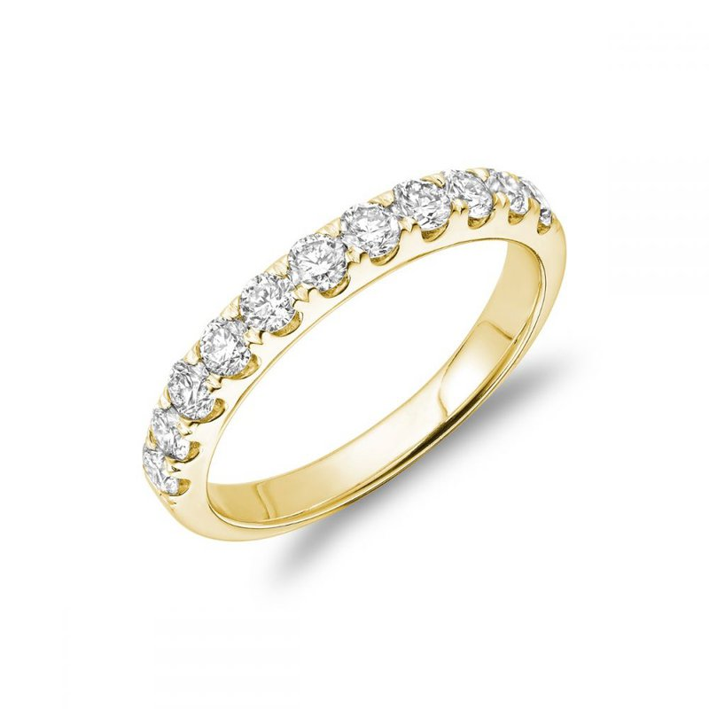 RNB Bijoux Jewellery Semi Eternity Diamond Band