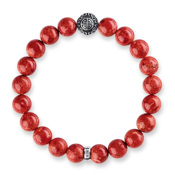 Bracelet Ethnic Red