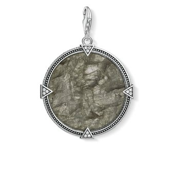Charm Pendant Vintage Coin Play Of Colour