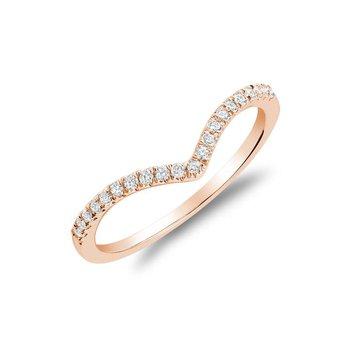 Diamond V Shape Fashion Ring