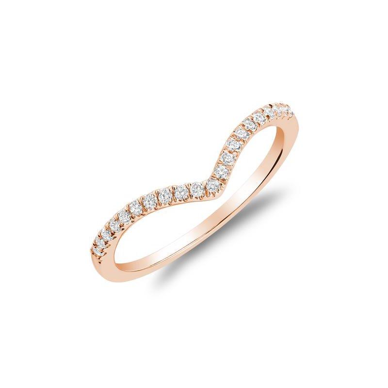 RNB Bijoux Jewellery Diamond V Shape Fashion Ring