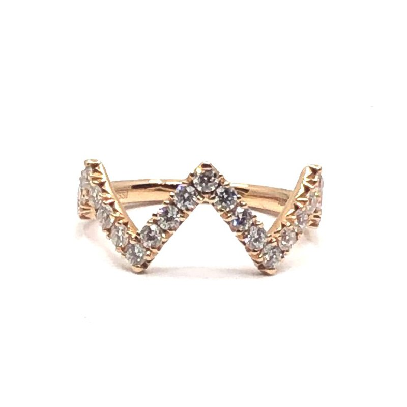 Henri Daussi Diamond Fashion Ring