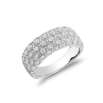 Three Row Fashion Ring