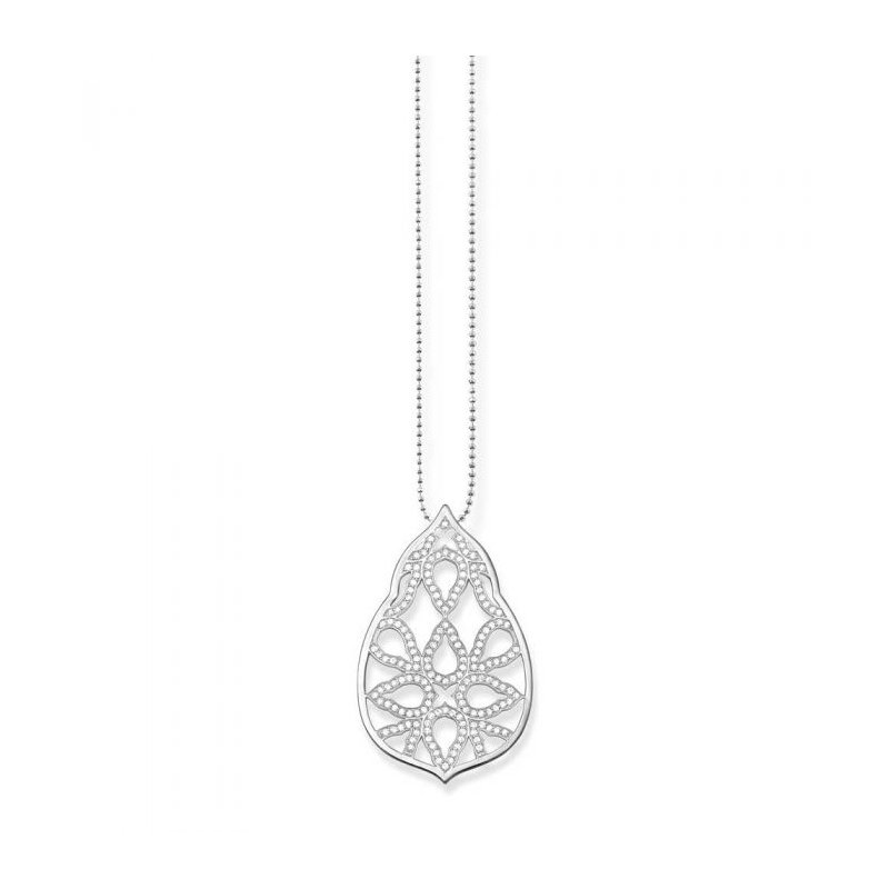 Thomas Sabo Drop Cz Necklace