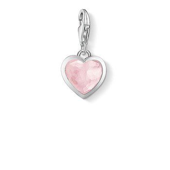 Charm Pendant Pink Heart