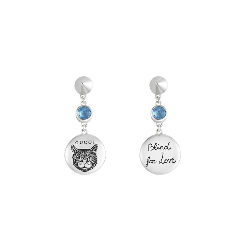 Gucci Jewellery Blind For Love Earrings
