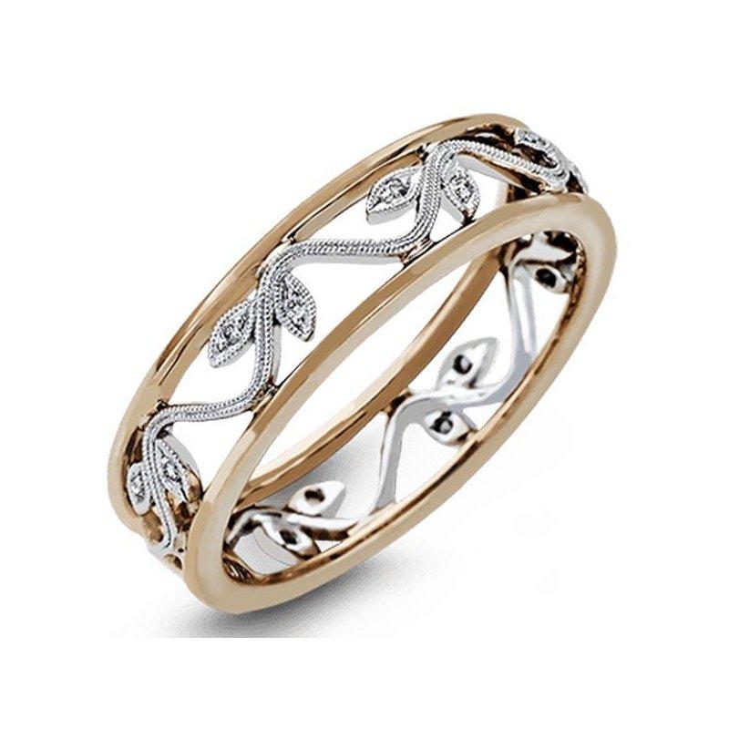 Simon G Diamond Flower Ring