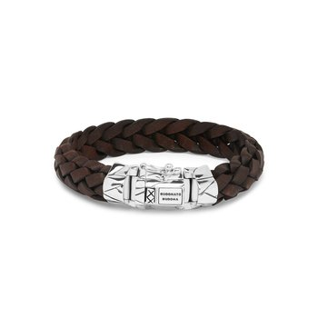Mangky Brown Leather Bracelet