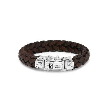 Mangky Brown Leather Bracelet