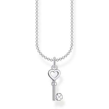 Necklace Key Heart
