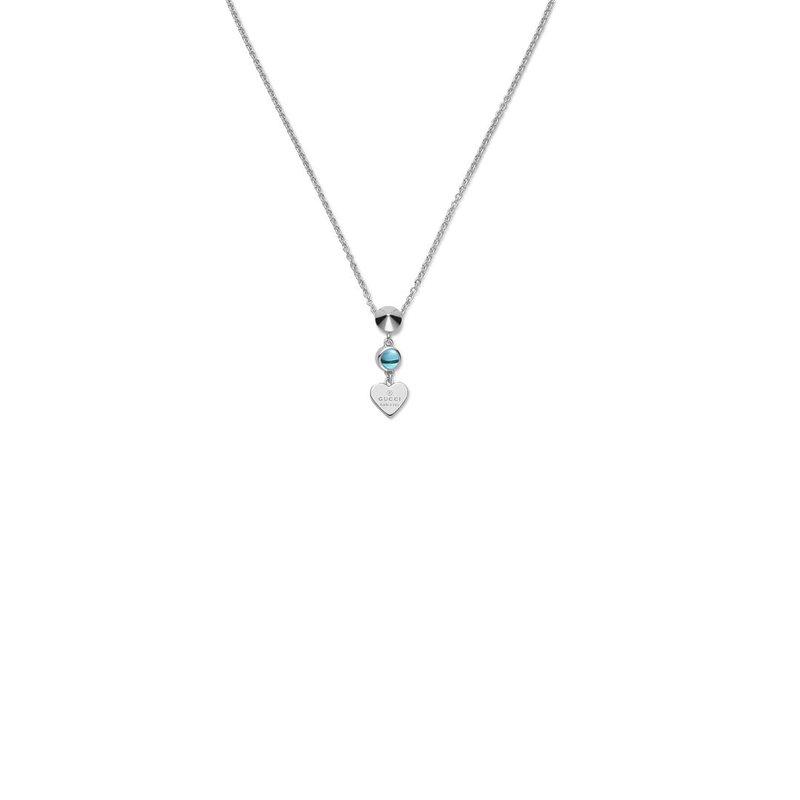 Gucci Jewellery Gucci Blue Topaz Trademark Necklace