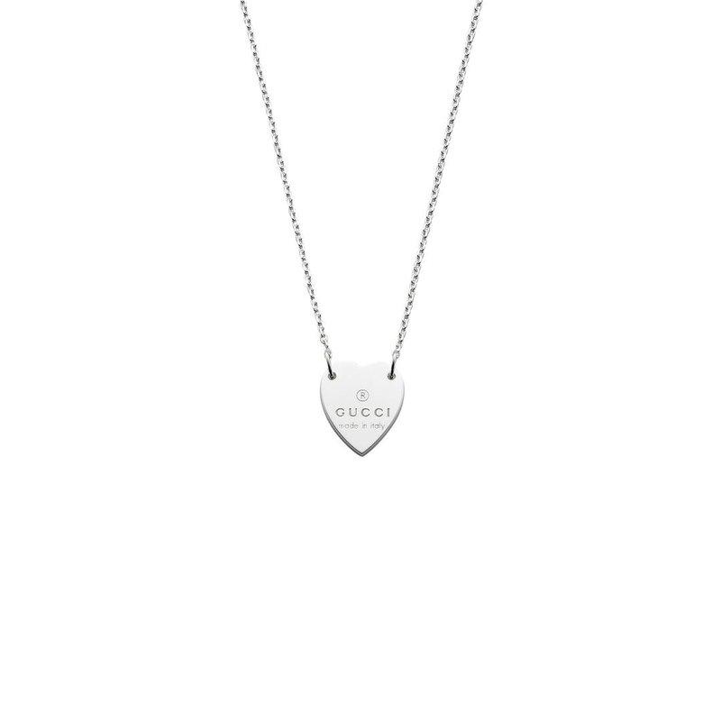 Gucci Jewellery Gucci Trademark Heart Necklace