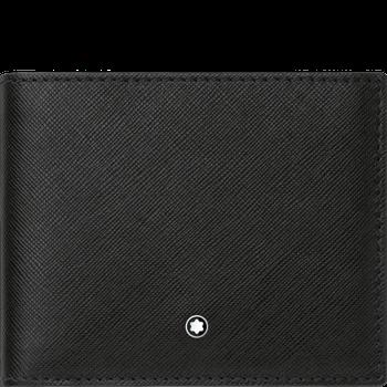 Sartorial Black Wallet 6cc