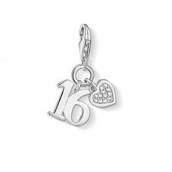 Number 16 Charm