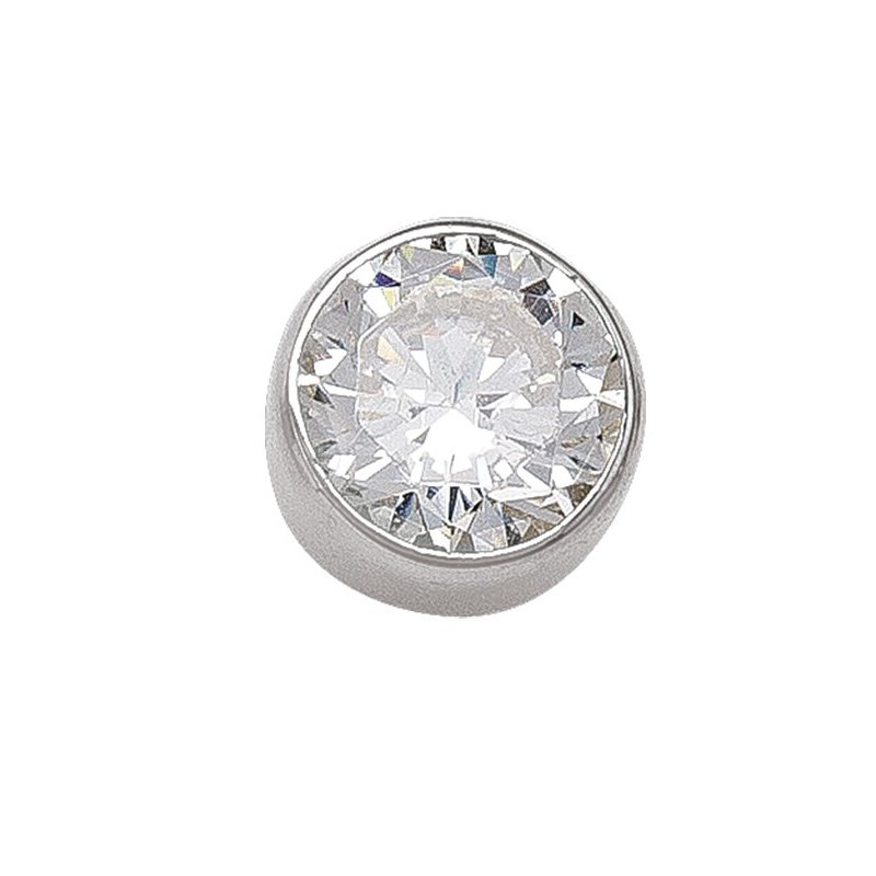 The Collection 6 mm Bezel Stud Earrings
