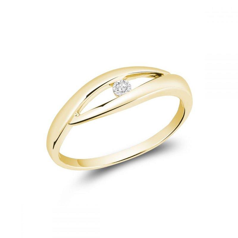 RNB Bijoux Jewellery Solitaire Diamond Fashion Ring