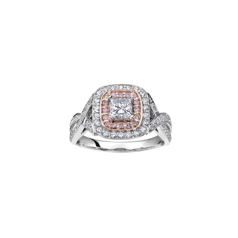 The Collection Halo Diamond Ring
