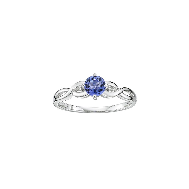 The Collection Tanzanite And Diamond Ring