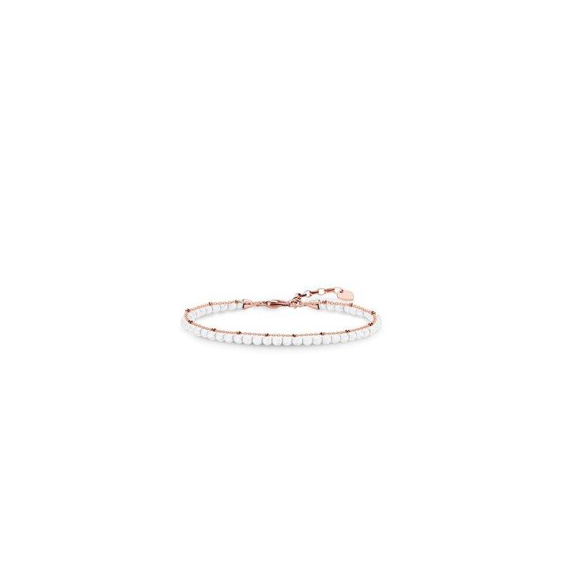 Thomas Sabo White Stone Bracelet
