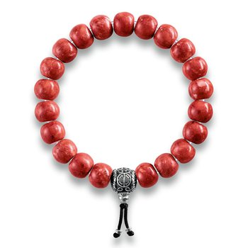Power Bracelet Ethnic Red
