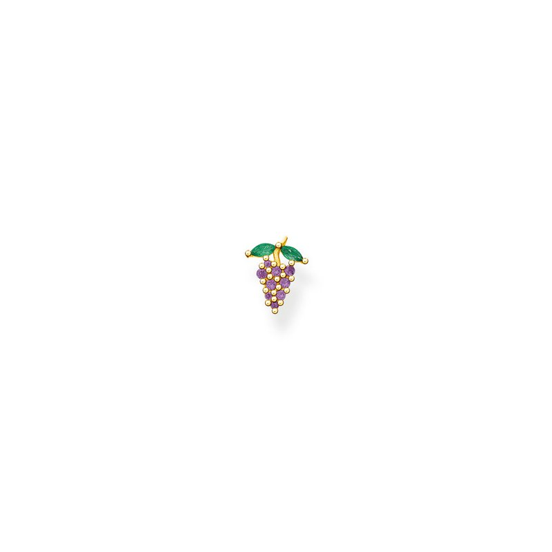 Thomas Sabo Single Stud Earring Grape Design