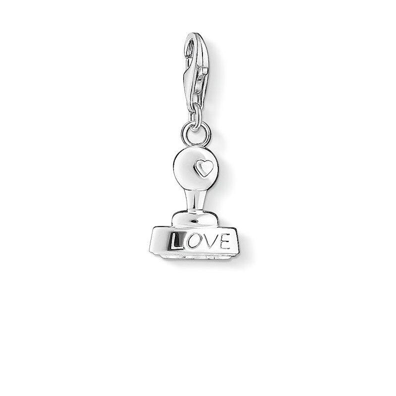 Thomas Sabo charm Pendant Love Stamp