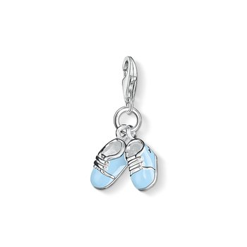Blue Booties Charm