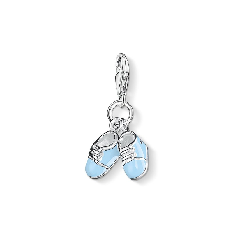 Thomas Sabo Blue Booties Charm