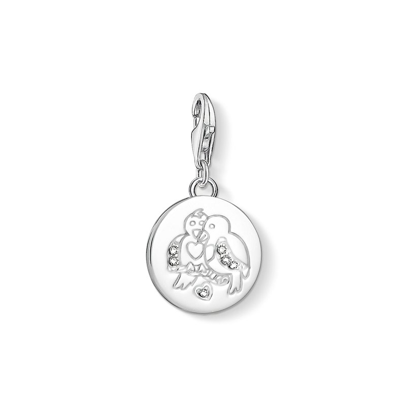 Thomas Sabo Charm Pendant Turtle Doves
