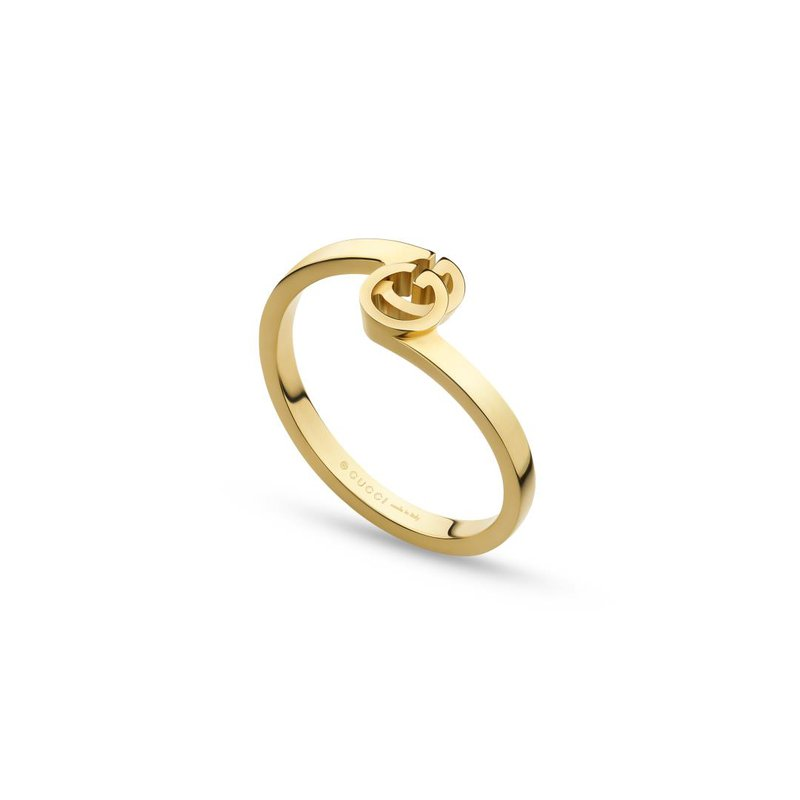 Gucci Jewellery GG Running ring in yellow gold