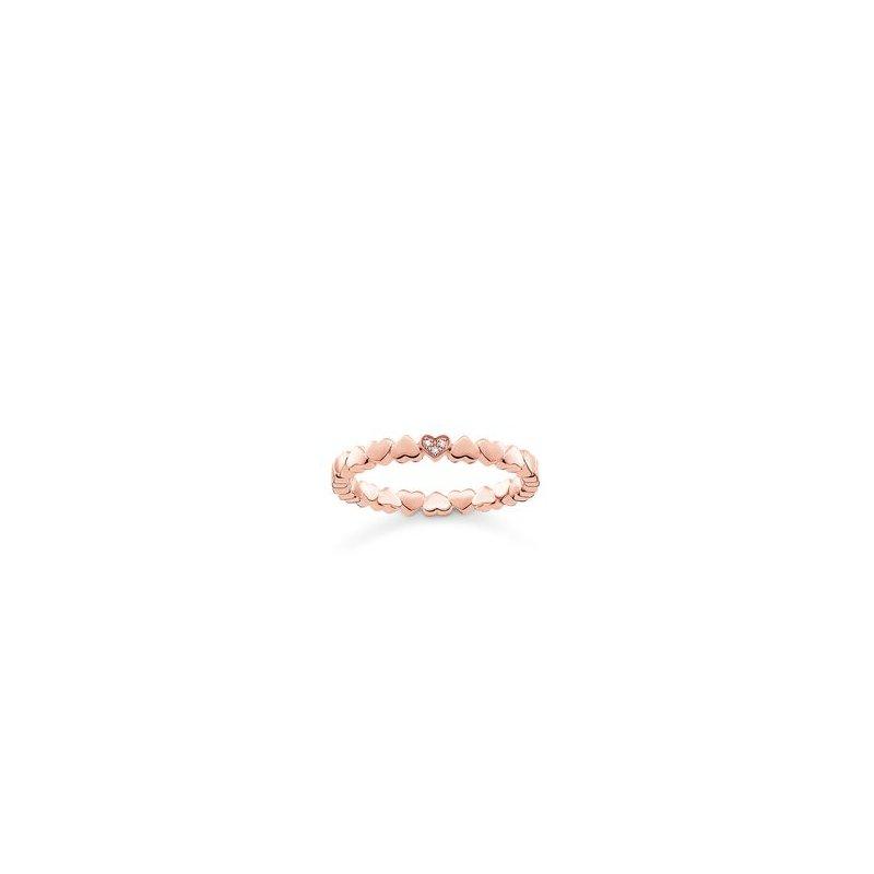 Thomas Sabo Diamond Heart Ring
