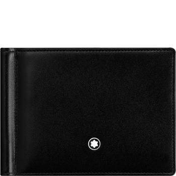 Black Leather with Money Clip