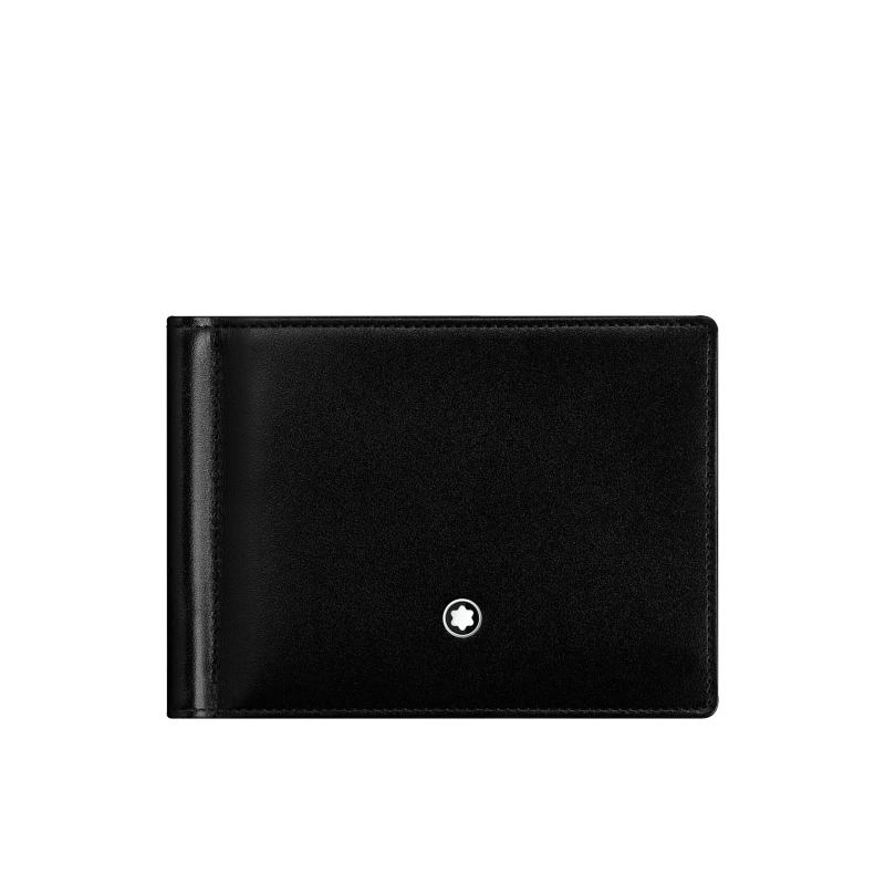 Montblanc Black Leather with Money Clip