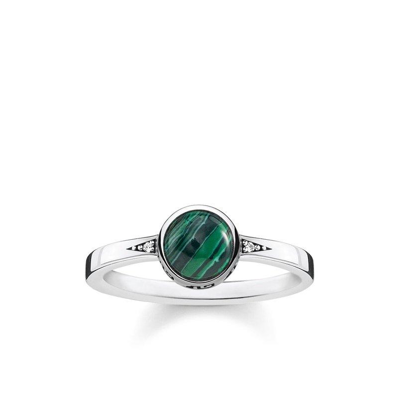 Thomas Sabo Green Stone Ring