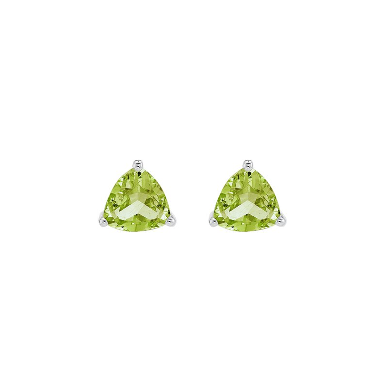 The Collection Peridot Stud Earrings