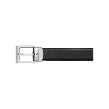 Reversible Leather Strap Black/Brown Belt