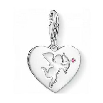 Heart With Cupid Charm
