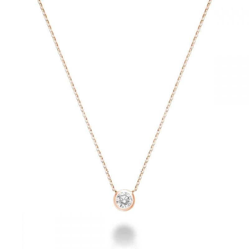 RNB Bijoux Jewellery Bezel Diamond Necklace