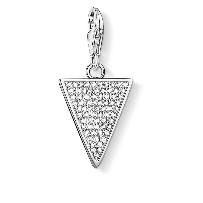 Thomas Sabo Charm Pendant Triangle White