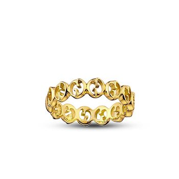 Gucci 18K Yellow Gold 1973 Small Ring