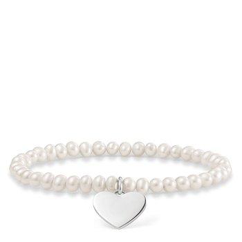 Pearl Heart Bracelet