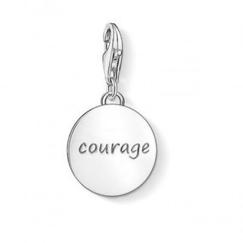 Pendant Charm Courage